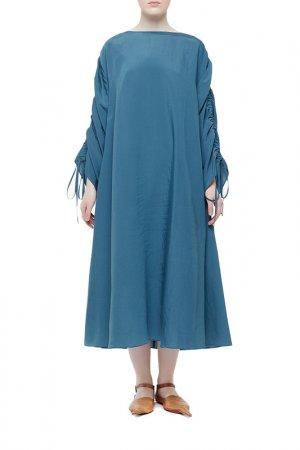 Платье Cyrille Gassiline. Цвет: изумрудный