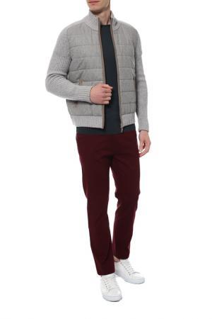 Куртка GRAN SASSO. Цвет: светло-серый