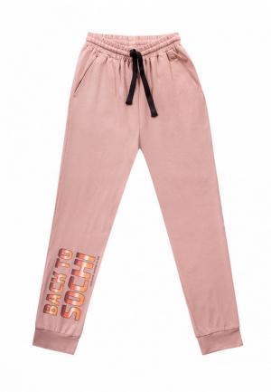 Брюки спортивные Dnk. Цвет: розовый