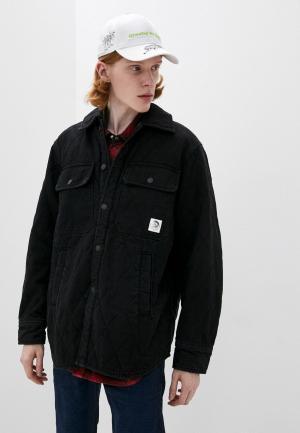 Куртка и жилет Diesel. Цвет: разноцветный