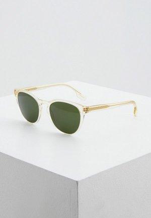 Очки солнцезащитные Burberry. Цвет: прозрачный