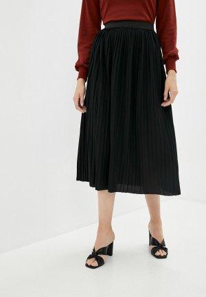 Юбка Jacqueline de Yong. Цвет: черный