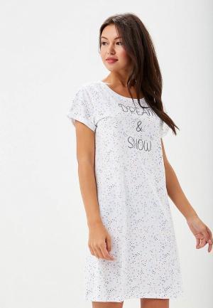 Платье домашнее Vis-a-Vis. Цвет: белый