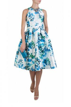 Платье FOREVER UNIQUE. Цвет: белый