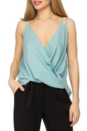 Блузка GLOSS. Цвет: бирюзовый