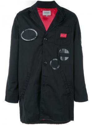 Куртка Slam Jam Carhartt. Цвет: чёрный