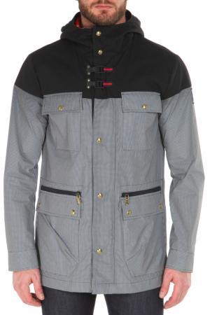 Куртка MONCLER. Цвет: черный