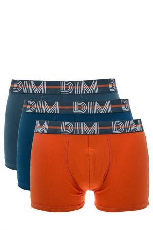 Комплект трусов DIM. Цвет: оранжевый