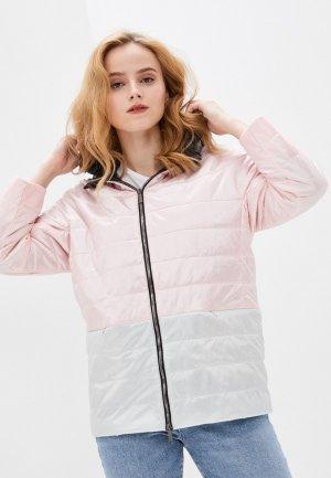 Куртка утепленная Nataliy Beate. Цвет: розовый