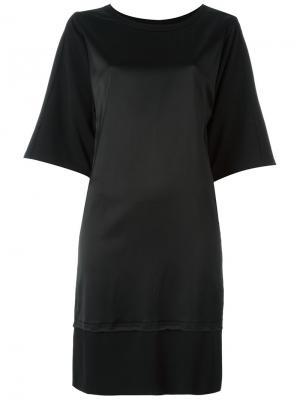 Платье Marvin Minimarket. Цвет: чёрный
