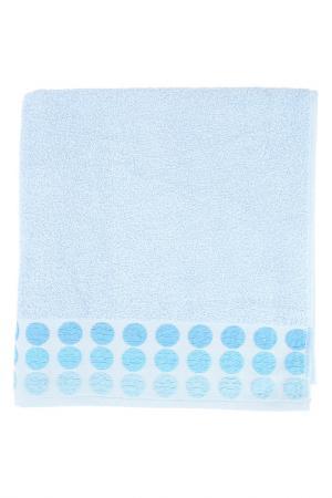 Полотенце махровое, 70х140 см BRIELLE. Цвет: голубой