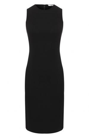 Однотонное платье без рукавов Elizabeth and James. Цвет: черный