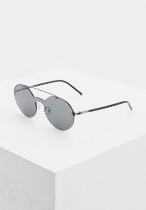 Очки солнцезащитные Emporio Armani. Цвет: черный