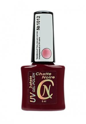 Гель-лак для ногтей Chatte Noire. Цвет: розовый