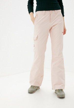 Брюки горнолыжные DC Shoes. Цвет: розовый