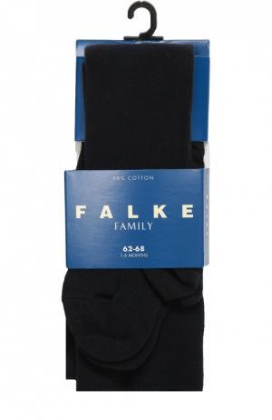 Колготки из хлопка Falke. Цвет: синий