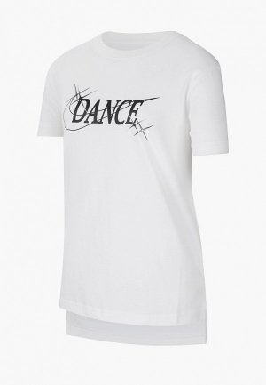 Футболка Nike. Цвет: белый