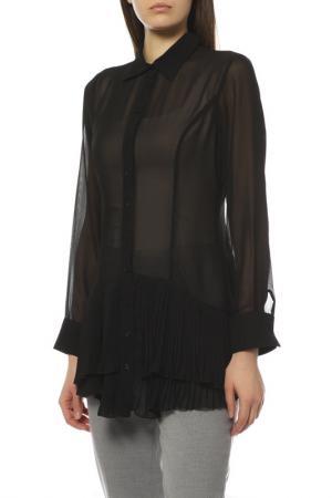 Блуза EXETERA. Цвет: черный