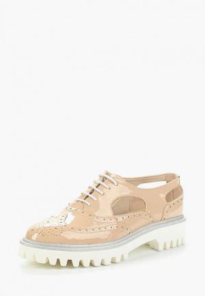 Ботинки Bona Dea. Цвет: бежевый