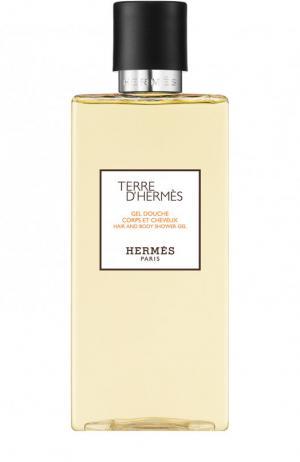 Шампунь для волос и тела Terre d Hermès. Цвет: бесцветный