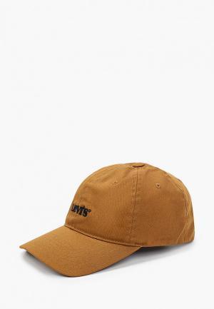Бейсболка Levis® Levi's®. Цвет: коричневый