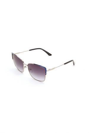 Очки солнцезащитные GUY LAROCHE. Цвет: 102 серебристый