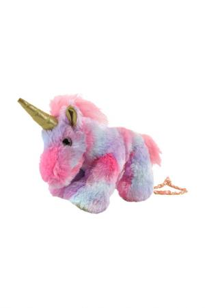 Сумочка Единорог FLUFFY FAMILY. Цвет: розовый