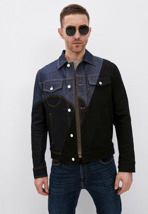 Куртка джинсовая Neil Barrett. Цвет: черный