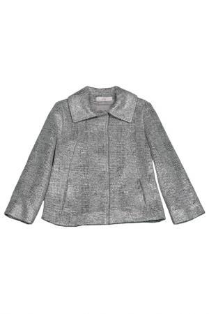 Пальто VIADELLEPERLE VDP. Цвет: серый