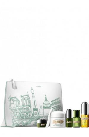 Весенний набор 2: Городская коллекция для придания коже сияния Париж La Mer. Цвет: бесцветный