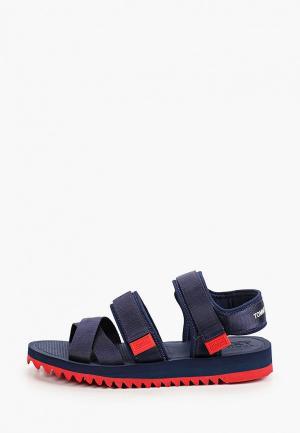Сандалии Tommy Jeans. Цвет: синий