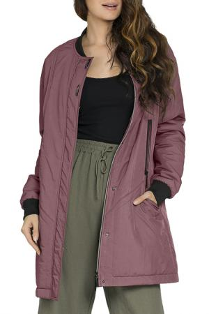 Куртка D`IMMA. Цвет: прелая вишня