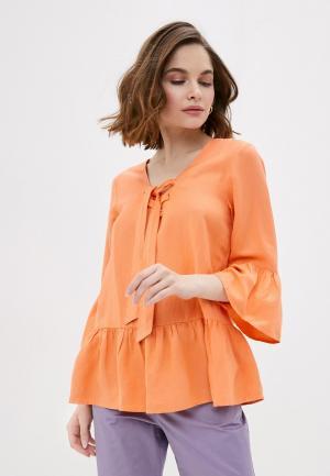 Блуза Baon. Цвет: оранжевый