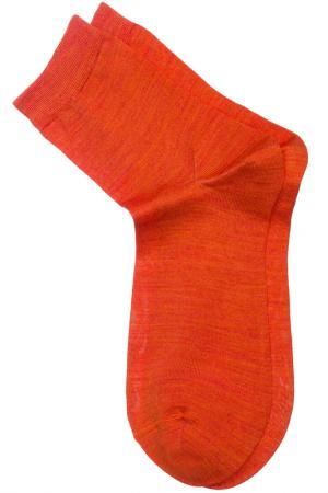 Носки ASKOMI. Цвет: оранжевый меланж