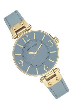 Часы наручные ANNE KLEIN. Цвет: голубой