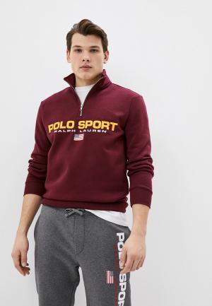 Олимпийка Polo Ralph Lauren. Цвет: бордовый