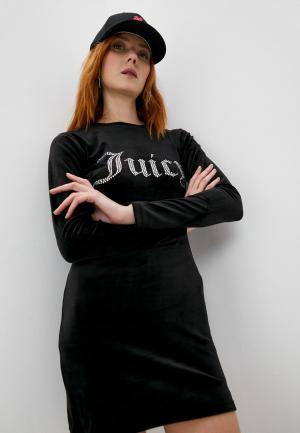 Платье Juicy Couture. Цвет: черный