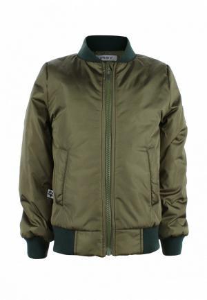 Куртка утепленная Irby Style. Цвет: хаки