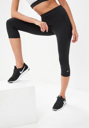 Капри Nike. Цвет: черный