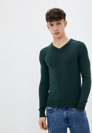 Пуловер Bakers Baker's. Цвет: зеленый