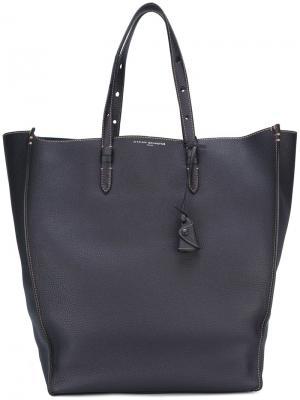 Большая сумка-тоут Wilde Myriam Schaefer. Цвет: синий