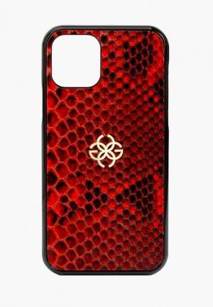 Чехол для iPhone Golden Concept. Цвет: красный