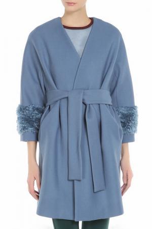 Пальто Beatrice. B. Цвет: голубой