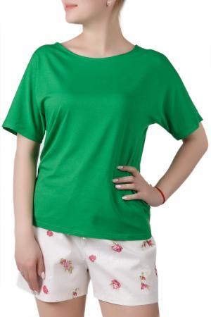 Пижамный комплект Sonett. Цвет: молочно-зеленый