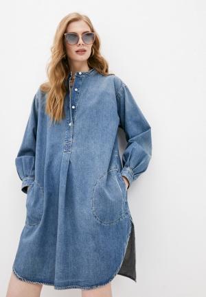 Платье джинсовое Closed. Цвет: синий