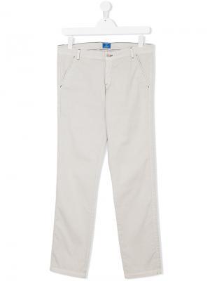 Классические брюки-чинос Teen Fay Kids. Цвет: телесный