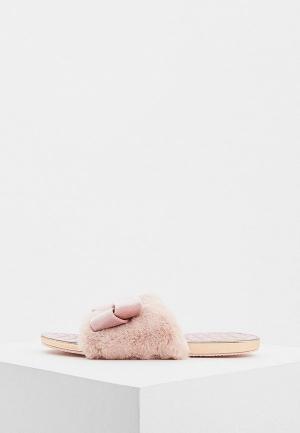 Тапочки Ted Baker London. Цвет: розовый