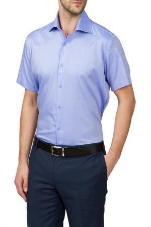 Сорочка KANZLER. Цвет: голубой