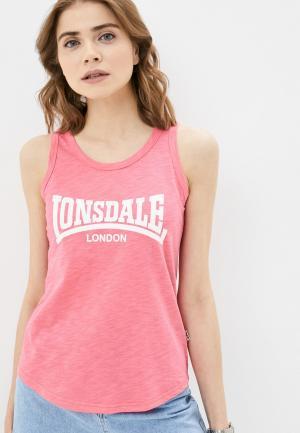 Майка Lonsdale. Цвет: розовый