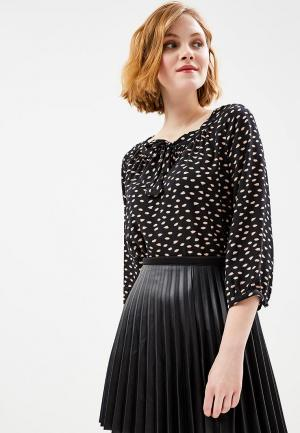 Блуза Motivi. Цвет: черный